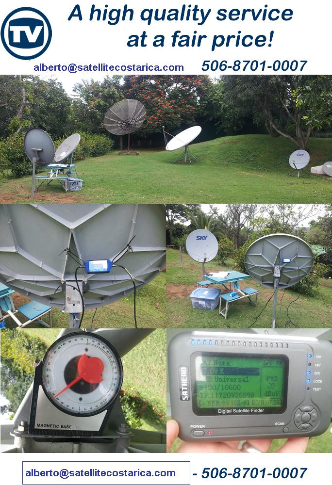 satellite costa rica