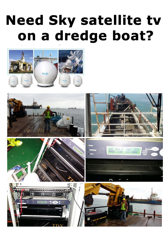 dredge-boat-dish-installation